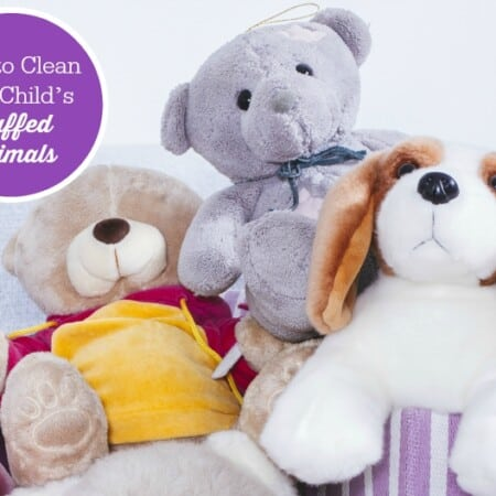 How to Clean Your Child's Stuffed Animals