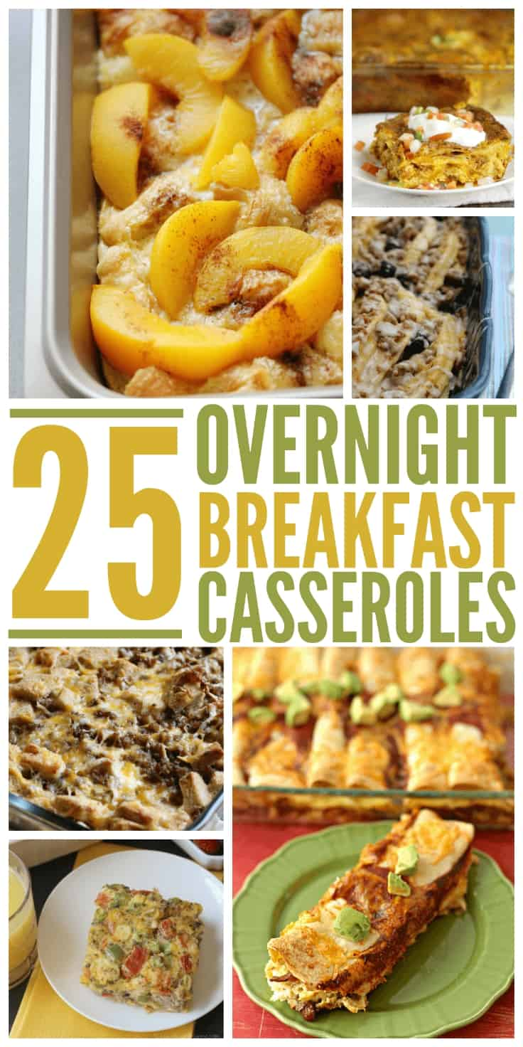 25 Overnight Breakfast Casseroles | Simply Stacie | Bloglovin'
