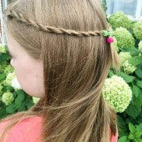 How to create a twisty braid in seconds