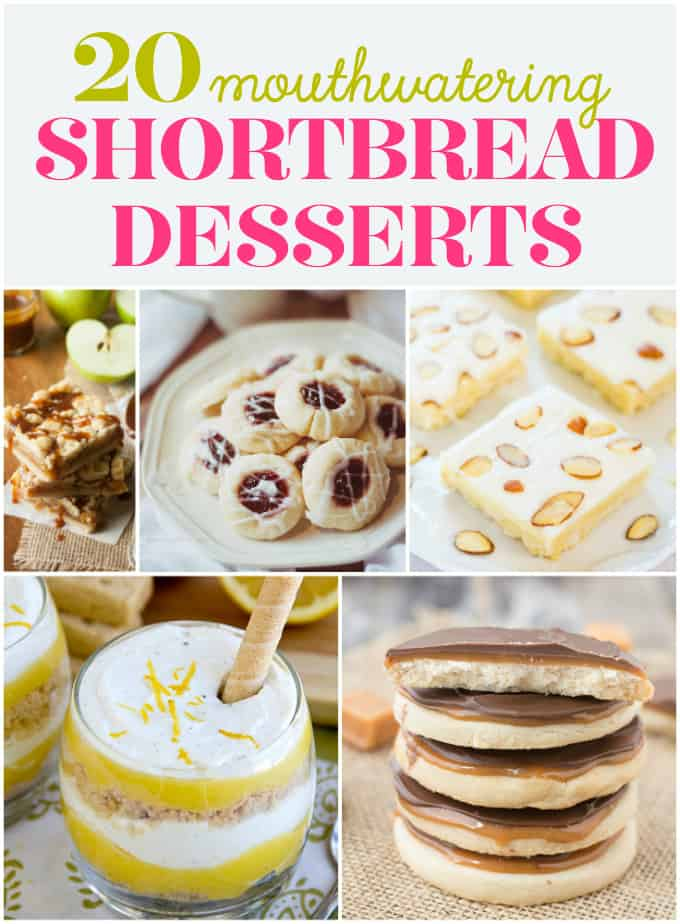 20 Mouthwatering Shortbread Desserts