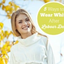 5 Ways to Wear White After Labour Day