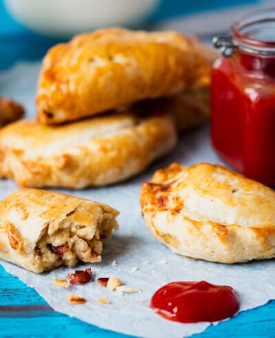 Cheese and Bacon Hand Pies