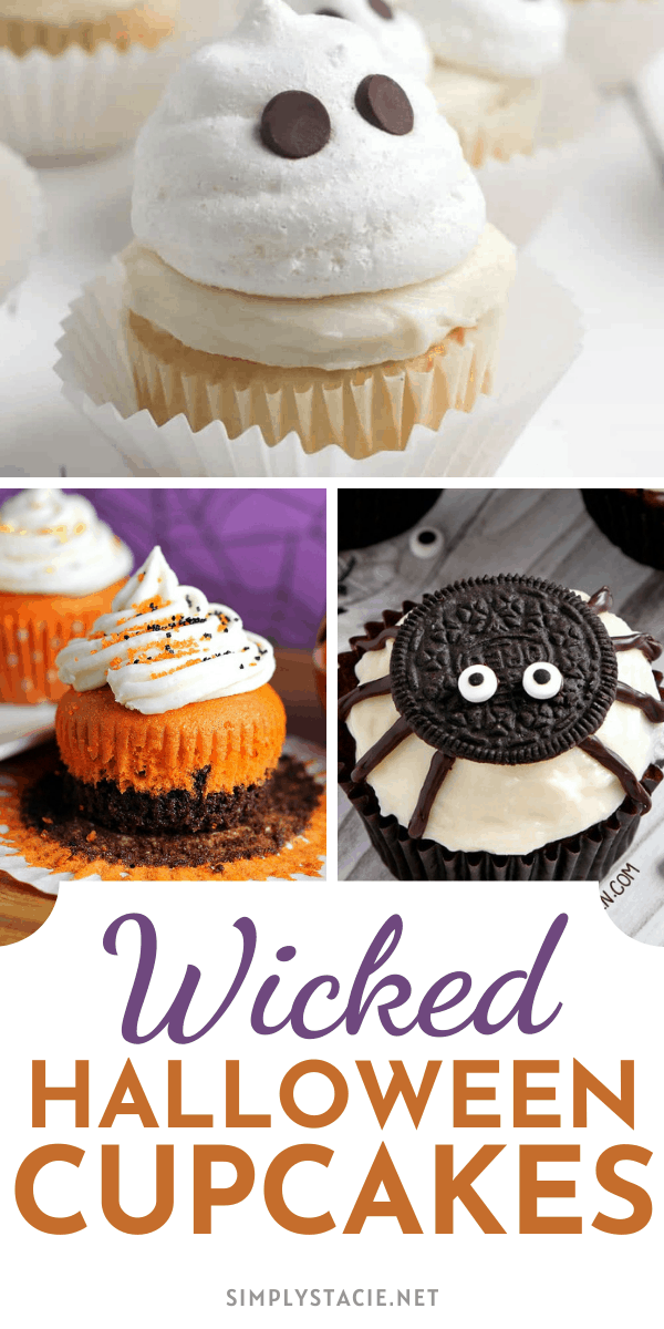 Wicked Halloween Cupcakes - Delight your taste buds and impress your friends and family with this spooky Halloween cupcake recipes.