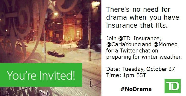 Join the #NoDrama Twitter Chat on October 27!