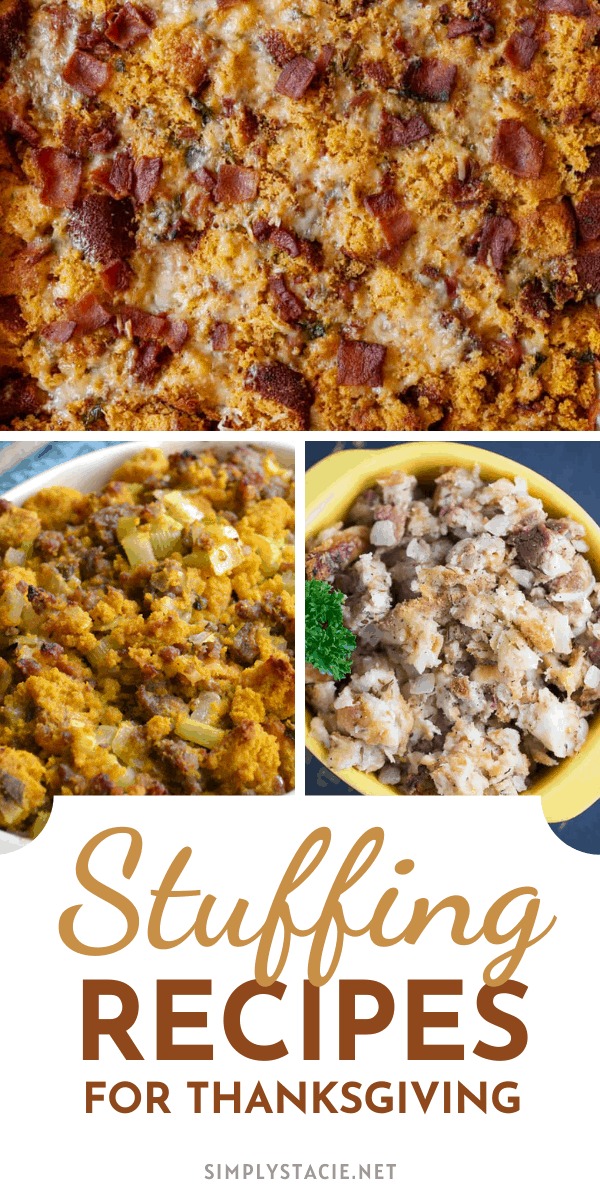 Delicious Stuffing Recipes for Thanksgiving - This mouthwatering collection of stuffing recipes are perfect to serve to your family for Thanksgiving dinner.