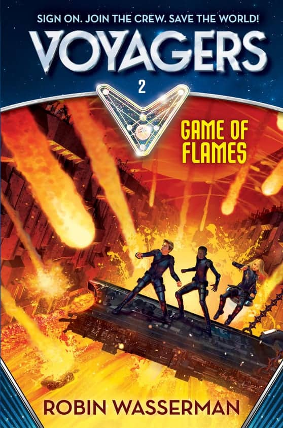 BOOK 2: GAME OF FLAMES by Robin Wasserman