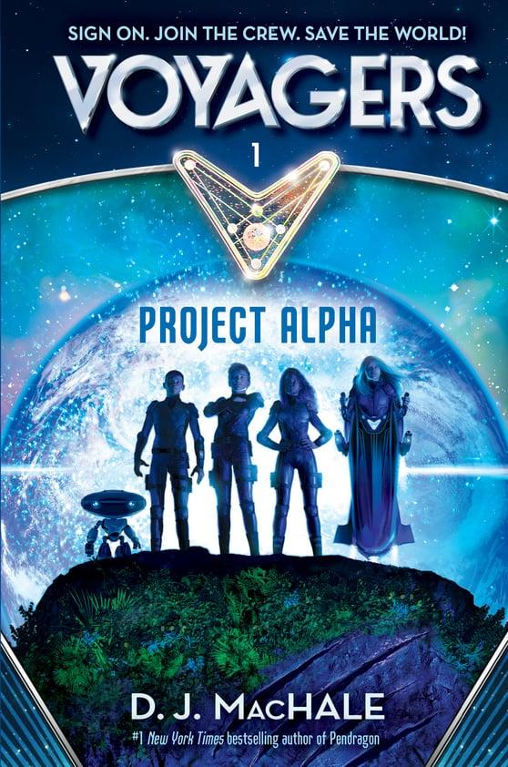 BOOK 1: PROJECT ALPHA by DJ MacHale