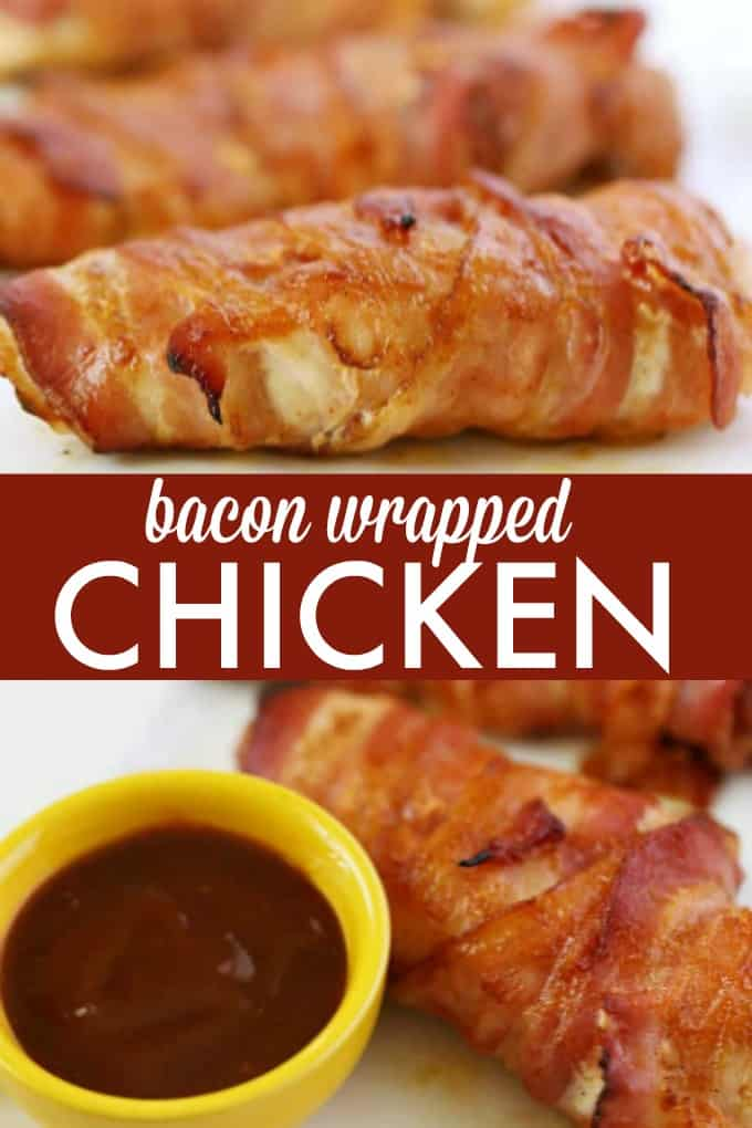 Bacon Wrapped Chicken - Enjoy delicious bacon wrapped chicken year round with this easy recipe. Plus, learn my two tips to making the perfect bacon wrapped chicken!