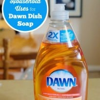15 Household Uses for Dawn Dish Soap