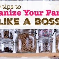 10 Tips to Organize Your Pantry Like a Boss