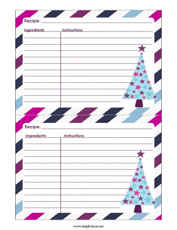 How to Plan a Cookie Exchange - Simple tips on how to plan a cookie exchange over the holidays. Plus, get free printables for recipe cards, invitations and more!