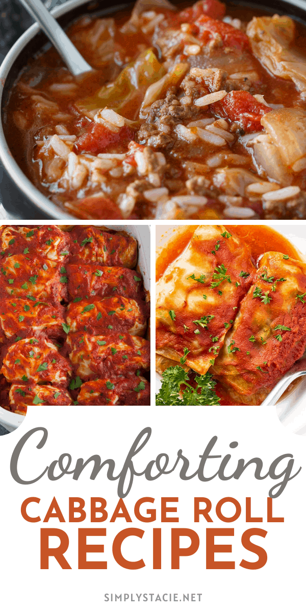 Comforting Cabbage Roll Recipes - These cabbage roll and cabbage roll inspired recipes are the perfect comfort food to make during the colder weather.