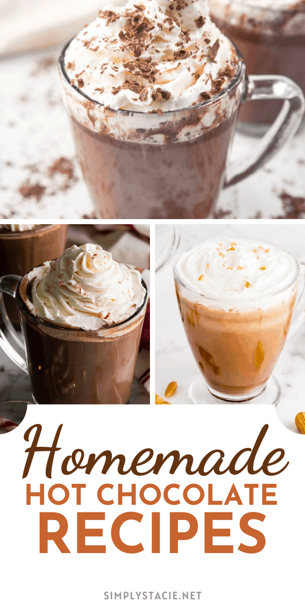 Homemade Hot Chocolate Recipes - Give your next mug a little zing of flavor with this yummy variety of hot chocolate recipes.