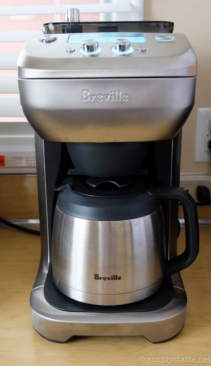 Coffee Maker Breville : Holiday Gift Idea: Breville Grind Control Coffee Maker - Simply Stacie