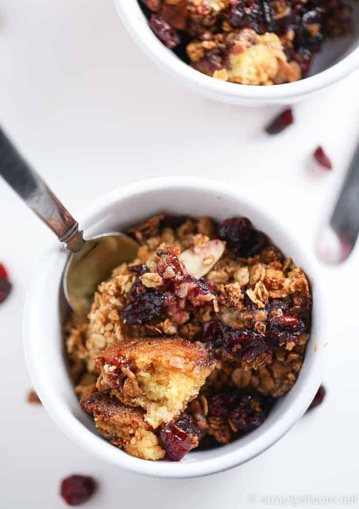 cranberry cobbler dump cake-6