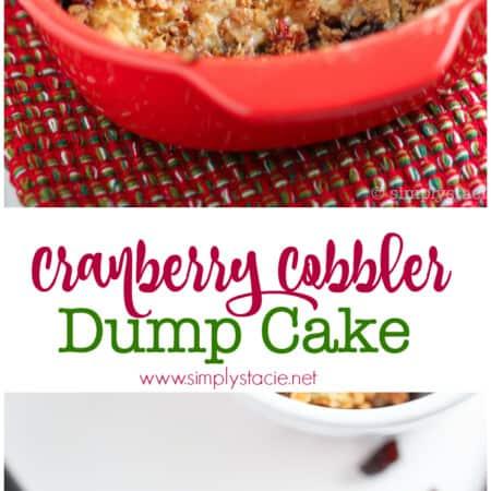 Cranberry Cobbler Dump Cake