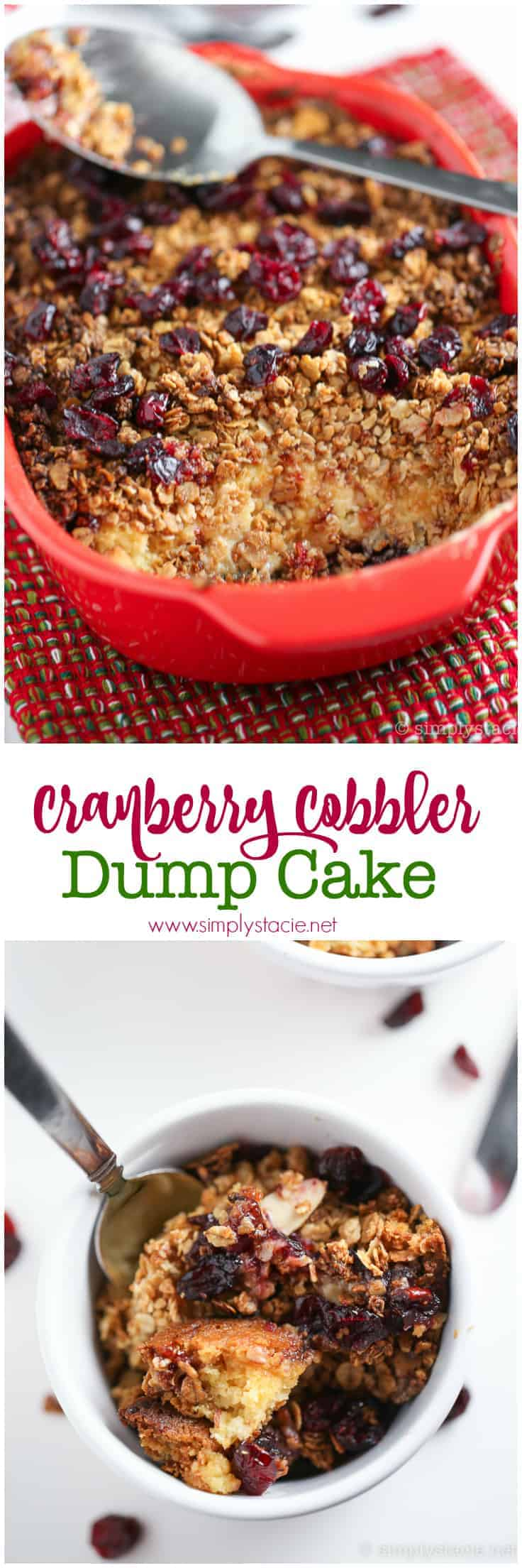 Cake Mix Hack With Cranberry Sauce
