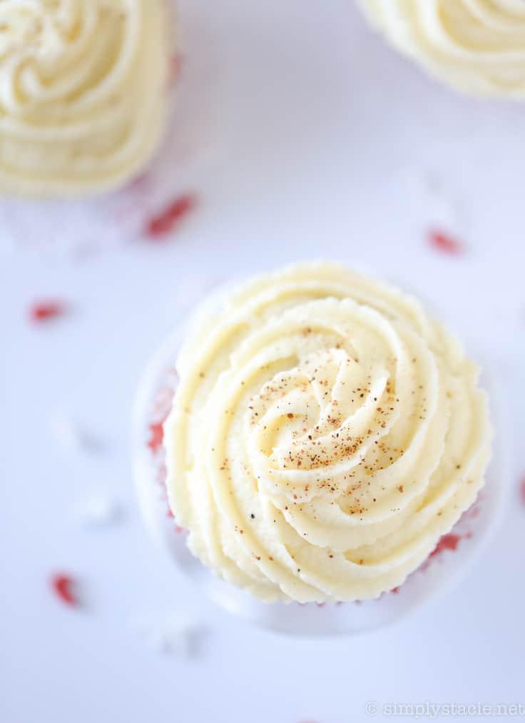 Eggnog Cupcakes - Simply Stacie