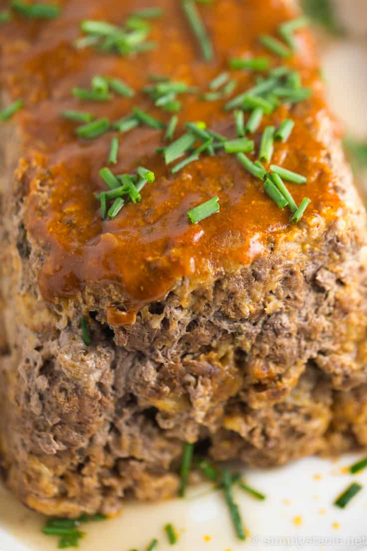 Indian Meatloaf - A Middle Eastern twist on an American classic! This ground beef and pork dish is packed with Vindaloo sauce with more on top.