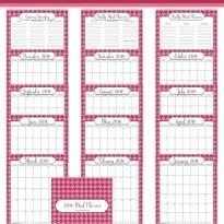 Free 2016 Meal Planner Printables