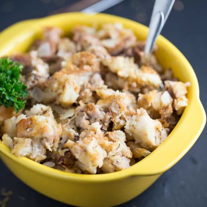 Mom's Simple Stuffing for Turkey