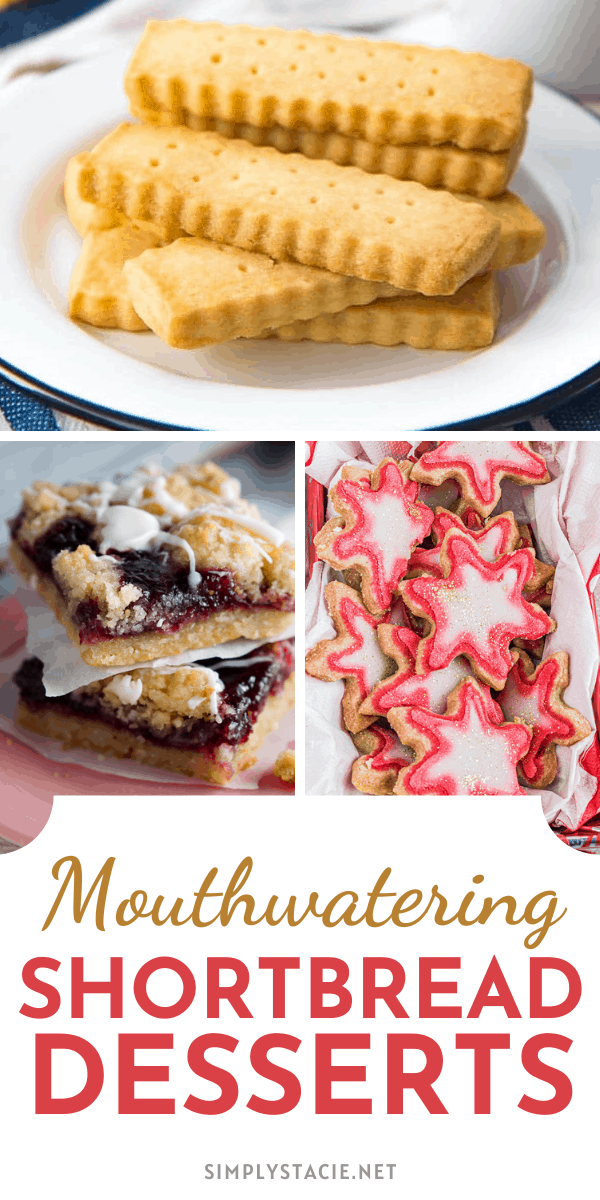 Mouthwatering Shortbread Desserts - There's more to shortbread than just plain cookies! These mouthwatering shortbread desserts recipe collection are worth a try.
