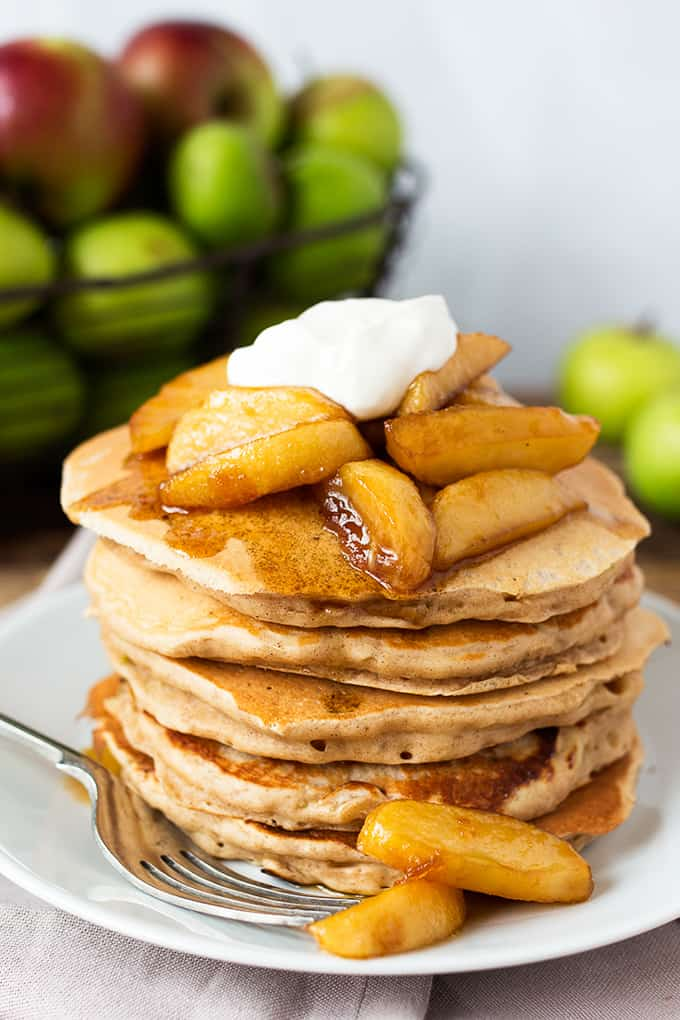 Apple Pie Pancake