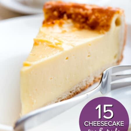 15 Cheesecake Tips & Tricks