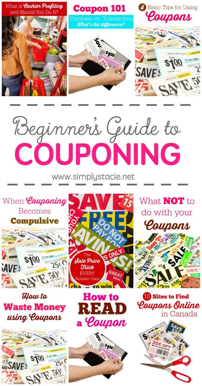 Beginner's Guide to Couponing - Want to learn how to use coupons to save money? Check out this awesome resource.