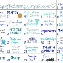 31 Days of Decluttering