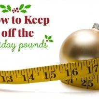 How to Keep Off the Holiday Pounds