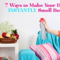7 Ways to Make Your Home Instantly Smell Better
