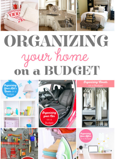 Organizing Your Home on a Budget Series