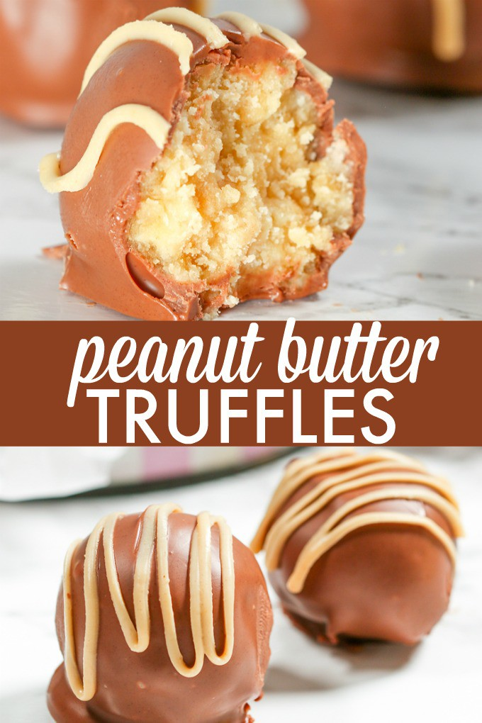 Peanut Butter Truffles - So easy to make that even the kids can help! These bite sized morsels of sweetness are so addictive.