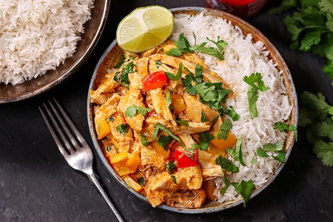 Turkey Thai Curry Simply Stacie