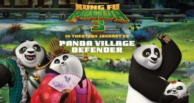 Play the Panda Village Defender Game