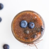 Blueberry Exfoliating Sugar Scrub