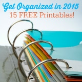 Get Organized with Free Printables