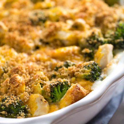 Chicken Broccoli Biscuit Bake