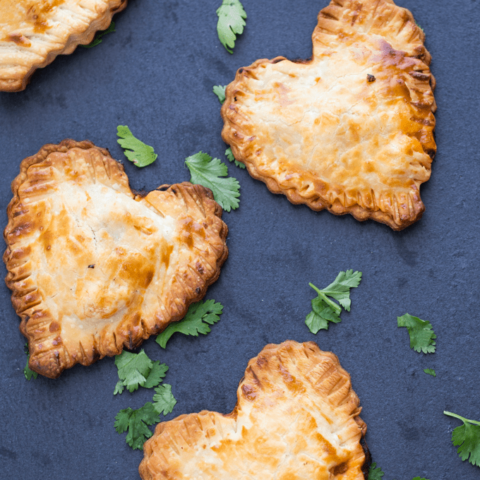 Butter Chicken Hand Pies