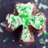 Mint Chocolate Shamrocks