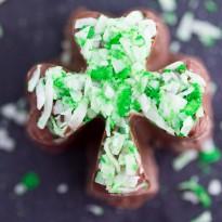 Mint Chocolate Shamrocks