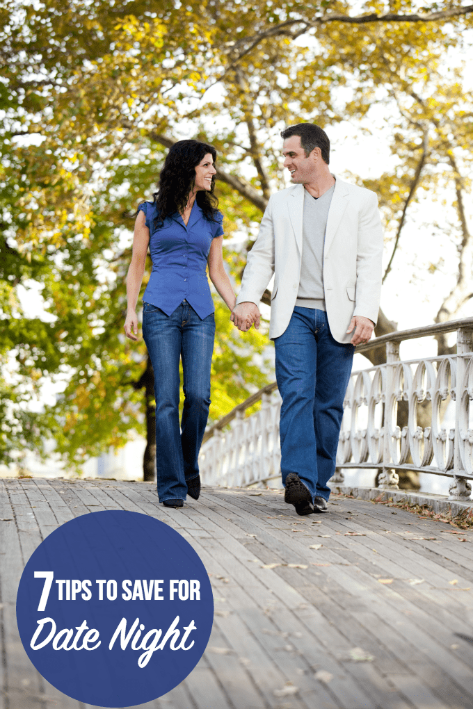 7 Tips to Save for Date Night - Feeling the tight financial crunch of rising prices? You can still have quality alone time and fun with these 7 simple money saving tips!
