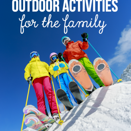 10 Winter Outdoor Activities for the Family