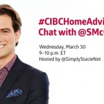 Join the #CIBCHomeAdvice Twitter Party on March 30th!