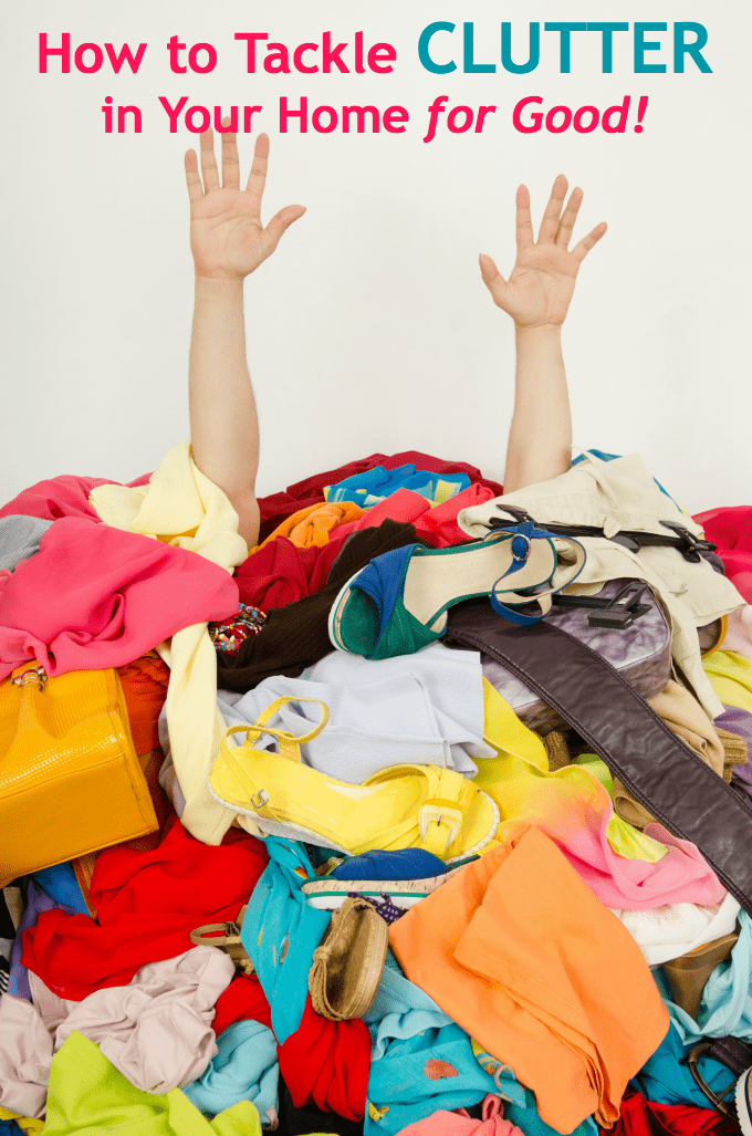 How to Tackle Clutter in Your Home for Good - Overwhelmed by too much stuff? Learn about the 3 most common clutter culprits and how to manage them before they manage you!