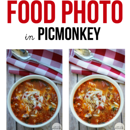 How to Edit a Food Photo in PicMonkey