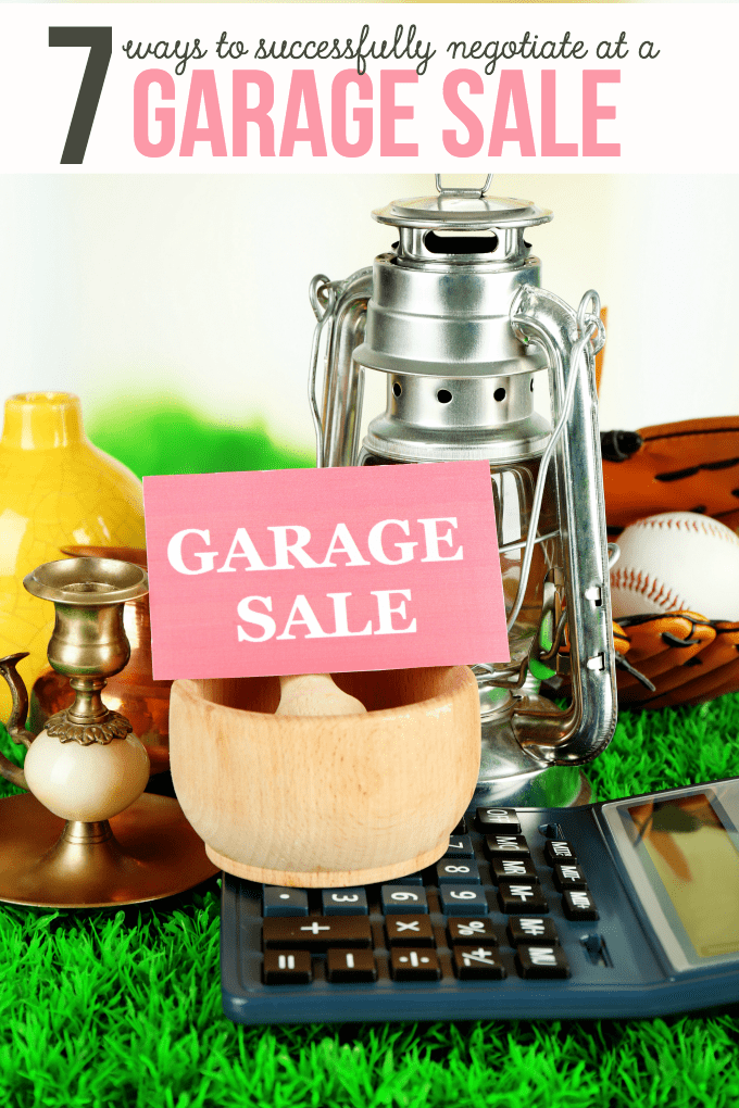 7 Ways to Successfully Negotiate at a Garage Sale - Do you love the rush of a good deal? Check out these helpful tips and get the most bang for your buck!