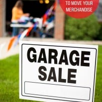Garage Sale Tips that Will Move Your Merchandise