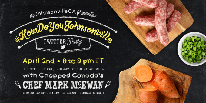 Join the #HowDoYouJohnsonville Twitter Party on April 2nd!